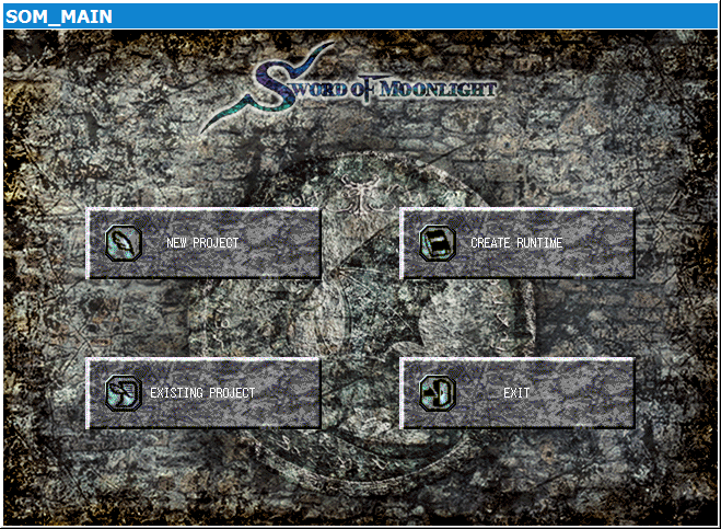 Sword of Moonlight main menu