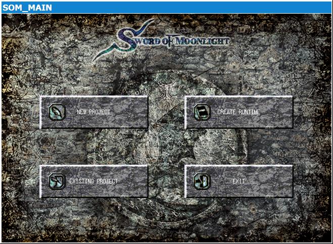 Sword of Moonlight main menu